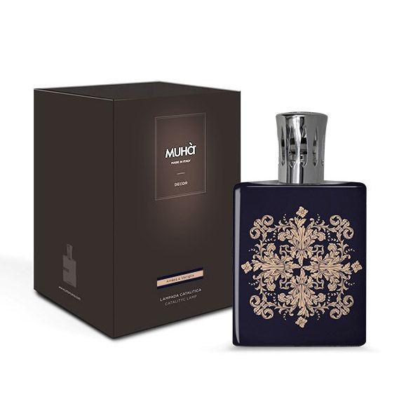 Katalitikus lámpa Reneszánsz virágos - Borostyán & vanília illat, MUHA