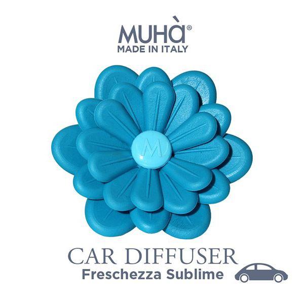 Autóillatosító Virág Égszínkék - Fenséges frissesség illat, MUHA