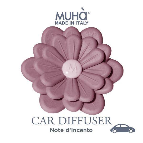 Autóillatosító Virág - Rózsaszín  Elbűvölő illat, MUHA