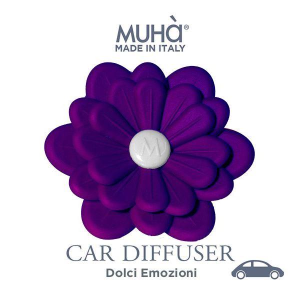 Autóillatosító Virág Lila - Édes érzelmek illat, MUHA