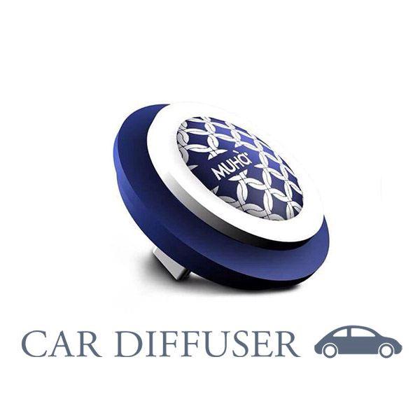 Autóillatosító Emblémás - Kék Textíl  Elbűvölő illat, MUHA