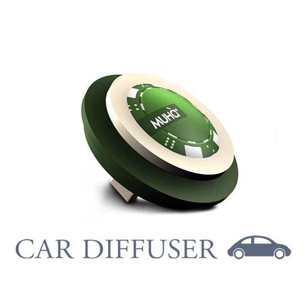 Autóillatosító Zseton Zöld - A vadszőlő mustja illat, MUHA