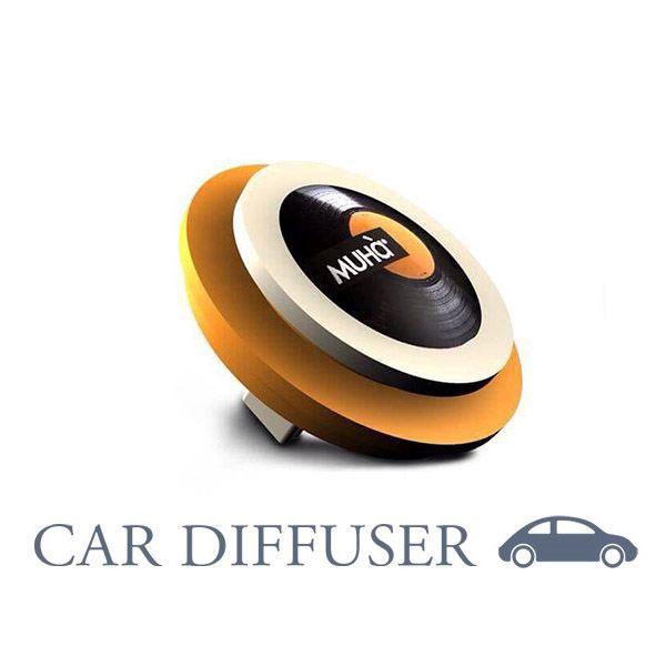 Autóillatosító Hanglemez - Narancs  Édes érzelmek illat, MUHA