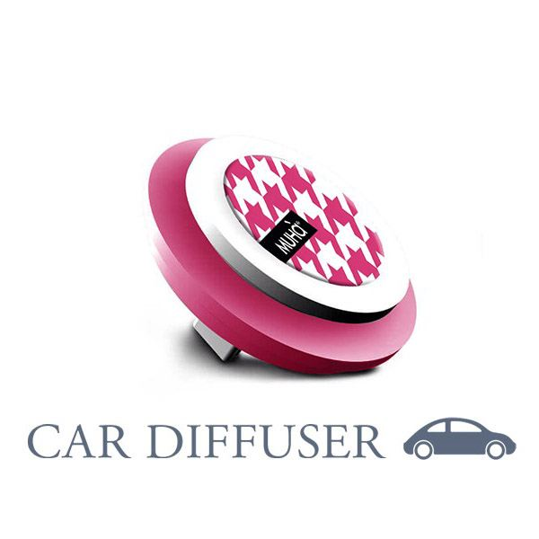 Car Symbol Pieddepoule Fucsia-La Boheme