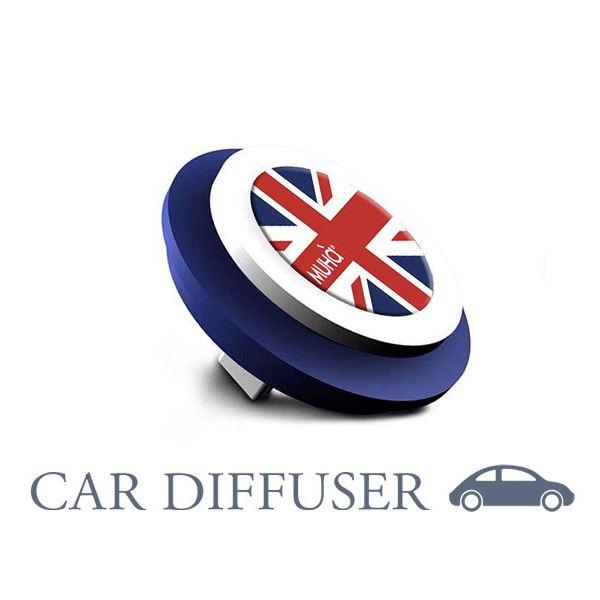 Car Symbol England Blue-Freschezza Sublime