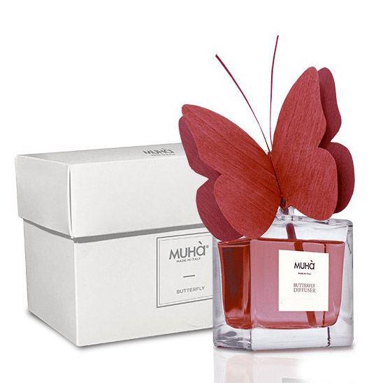 Pillangó illatosító diffúzor 50ml - Gránátalma illat, MUHA