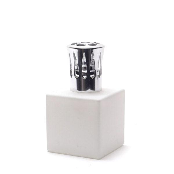 Divinessenze Katalitikus lámpa Fehér kocka Vékony védőkupakkal