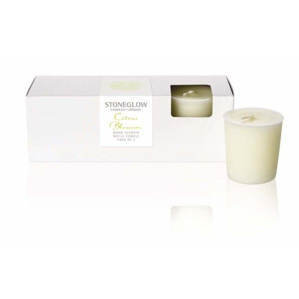 Citrus Blossom Candle Refill 3pk Botanic collection