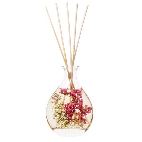 Aroma diffúzor 200ml - Rózsaborsos virágok illat, Stoneglow