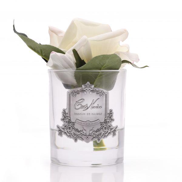1 Rózsás illat diffúzor pír színű, üvegben - Rózsaszirmok illat, Cote Noire