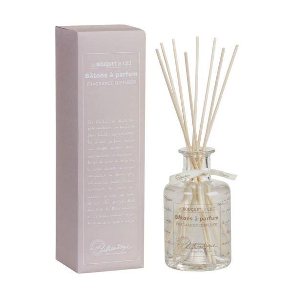 Lothantique Bambuszpálcás illatosító 200ml - Lili csokra
