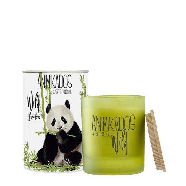 Ambientair Illatgyertya 40h Animikado Wild Panda - Bambusz