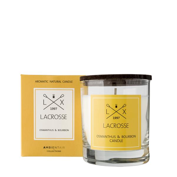 Ambientair Illatgyertya 40h Lacrosse - Osmanthus virág és bourbon