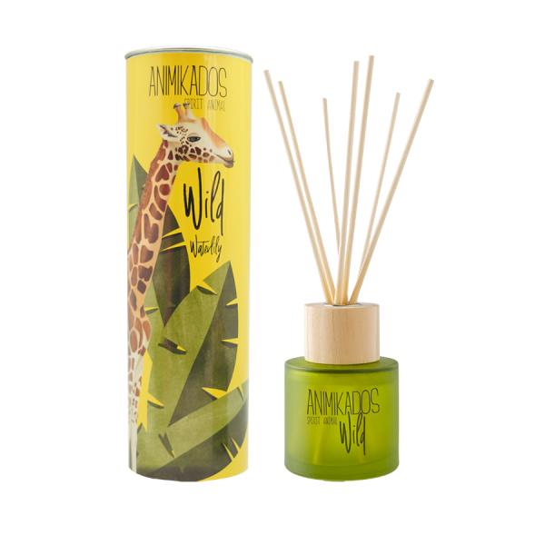 Ambientair Pálcás illatosító 100ml Wild Jirafa - Vizililiom