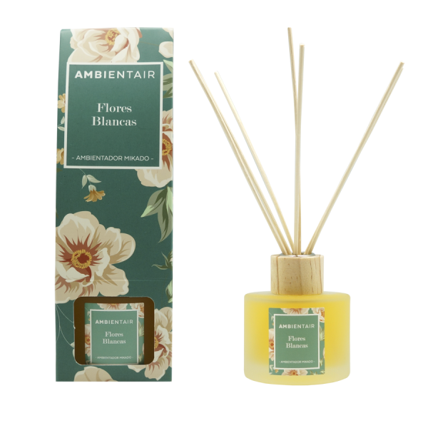 Ambientair Pálcás illatosító 100ml Floral - Fehér virágok