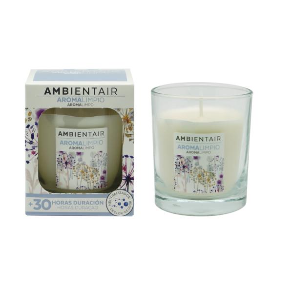 Ambientair Illatgyertya 30h - Tiszta aroma