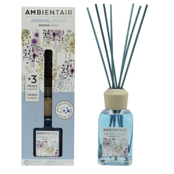 Ambientair Pálcás illatosító 100ml - Tiszta aroma