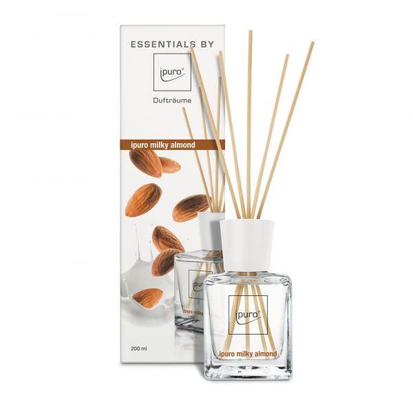 iPuro Pálcás illatosító Essentials 200ml - Tejszínes mandula
