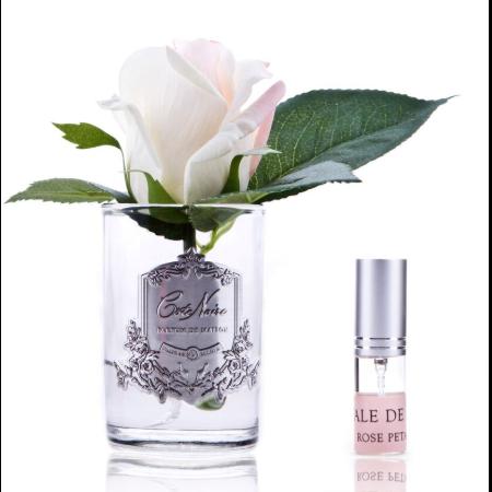 Rózsabimbó illat diffúzor pír szín, üvegben - Rózsaszirmok illat, Cote Noire