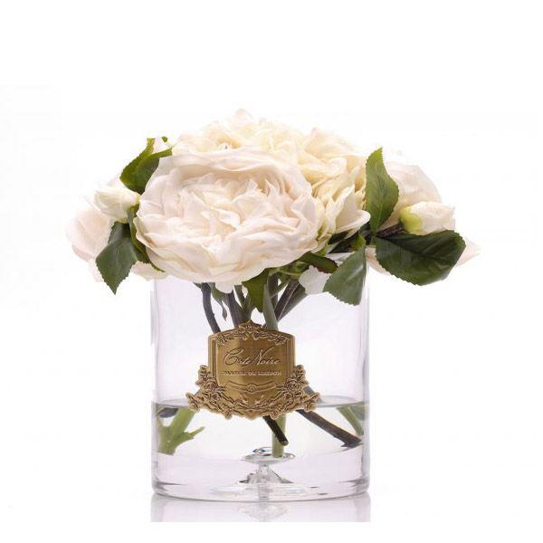 Bazsarózsa és hortenzia design diffúzor pezsgő szín - Bazsarózsa illat, Cote Noire