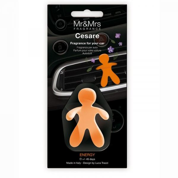 Mr&Mrs Fragrance autóillatosító figura CESARE - Energy