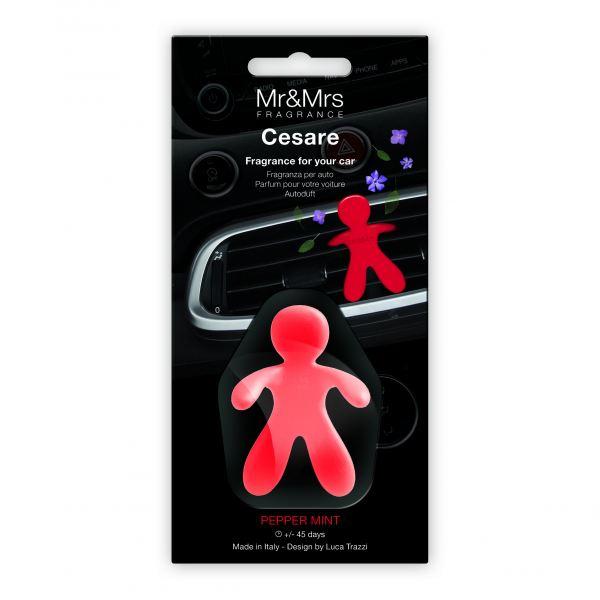 Mr&Mrs Fragrance autóillatosító figura CESARE - Pepper Mint