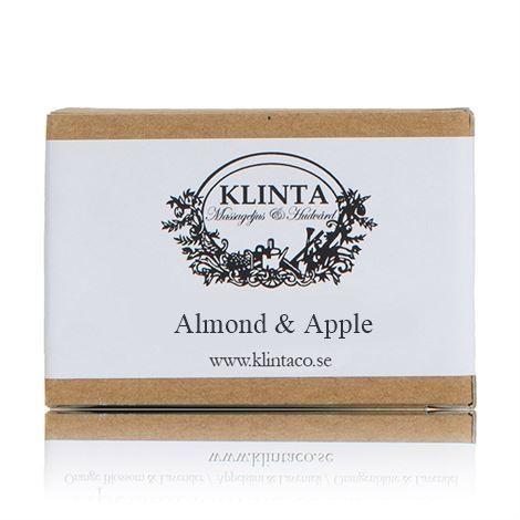 KLINTA Növényi szappan 100g - Mandula és alma illat
