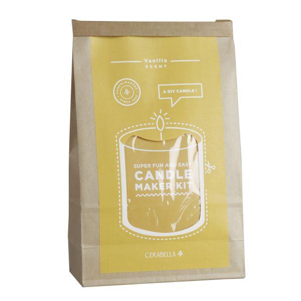 Gyertyakészítő szett - Vanília illat, Cerabella