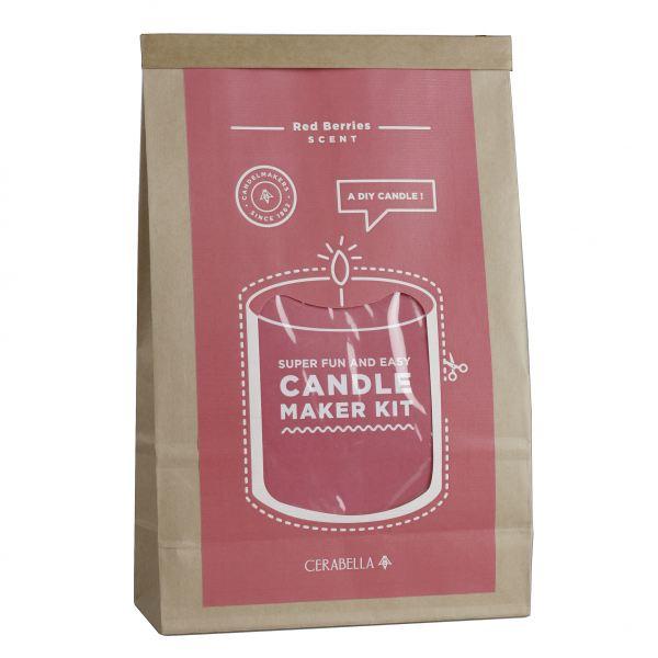 Gyertyakészítő szett - Piros bogyók illat, Cerabella