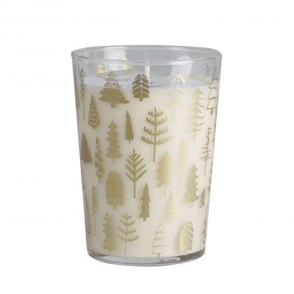 Illatos gyertya üvegpohár  - Tölgy és szantál illat, Cerabella