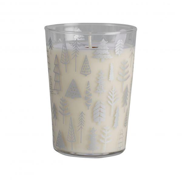 Illatos gyertya üvegpohár  - Fűszerek és Gyümölcsök illat, Cerabella