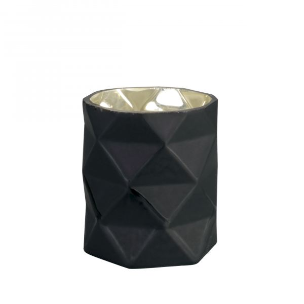 Illatos gyertya Geometria kicsi 9x7,5cm - Mirha illat, Cerabella