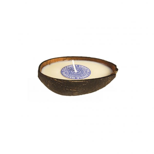 Illatos gyertya 12x4,5cm - Kókusz illat, Cerabella