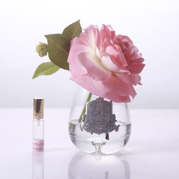 Tearózsa barack szín, üvegben - Rózsaszirmok illat, Cote Noire