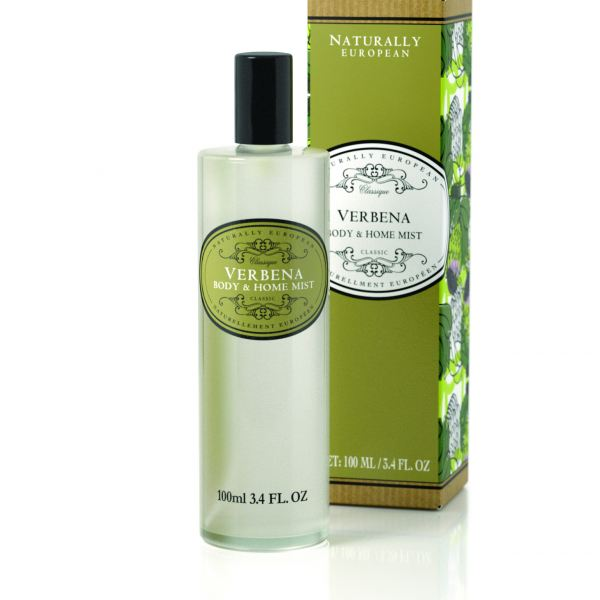 Testpermet és lakásillatosító spray  Naturally European 100ml - Verbéna illat, The Somerset Toiletry
