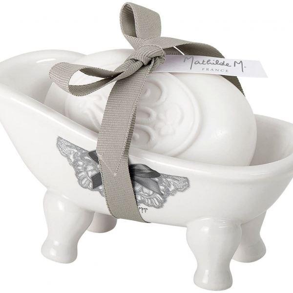 Mathilde M. Parfüm szappan 150g fürdőkádban - Elragadó rózsa