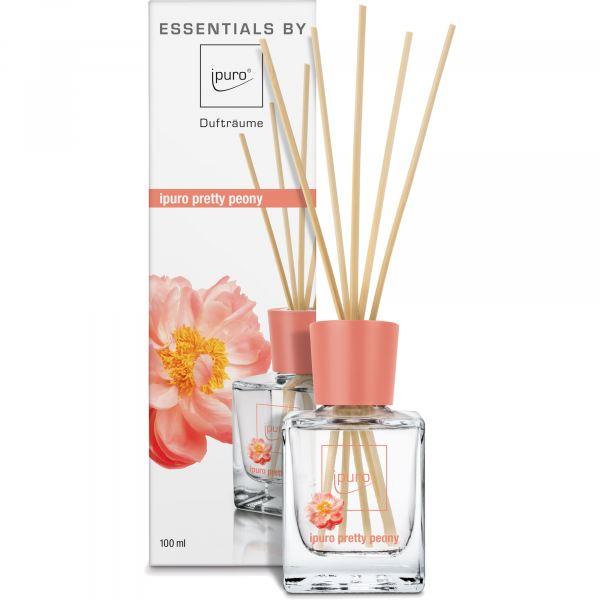 iPuro Pálcás illatosító Essentials 100ml -  Bájos bazsarózsa