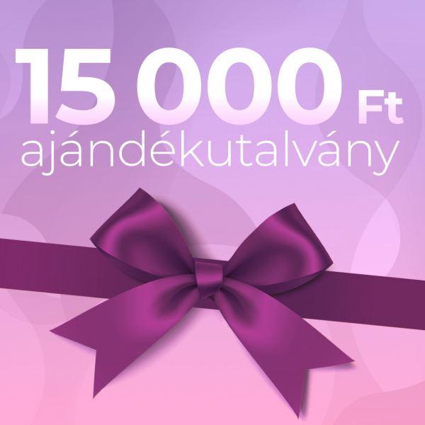 Ajándékutalvány 15000Ft