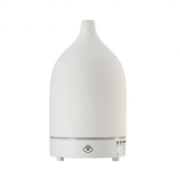Serene House Ultrahangos aroma diffúzor 90ml kerámia - Fehér Vapor