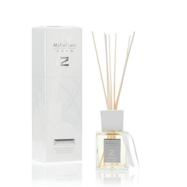 Millefiori Enteriőr parfüm ZONA 250ml - Puha bőr