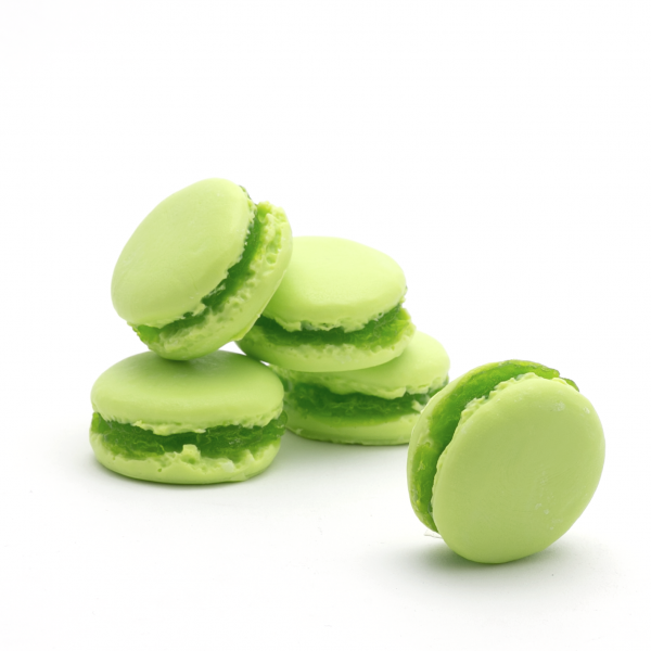 Macaron szappan 30g - Menta-citrom illat, Savonnerie de Bormes