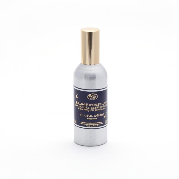 Párnára fújható permet 100ml - Hársfa illat, Savonnerie de Bormes