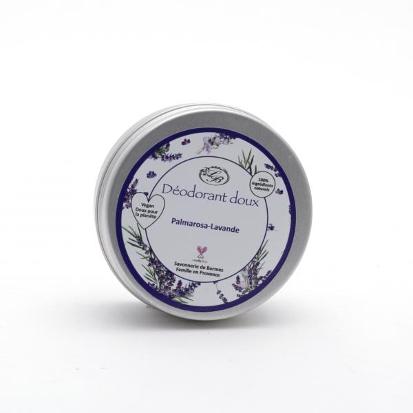 Szilárd dezodor 65g - Édes levendula-Palmarosa illat, Savonnerie de Bormes