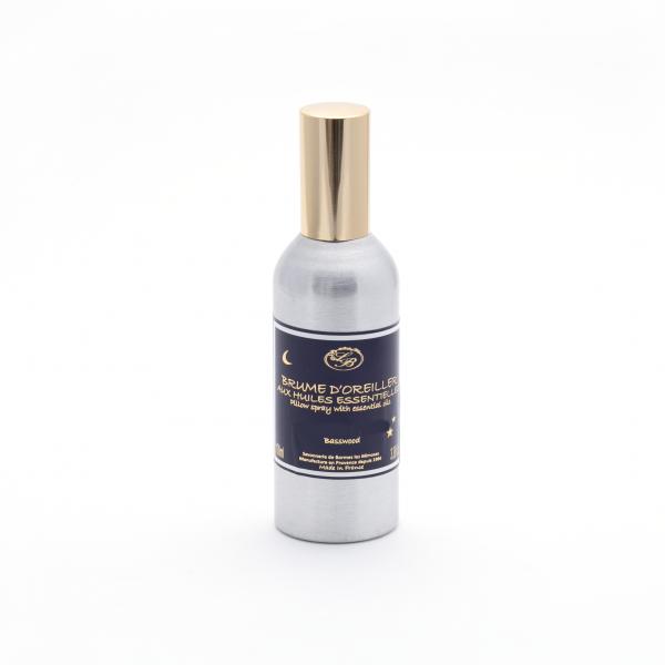 Párnára fújható permet 100ml - Menta-Eukaliptusz illat, Savonnerie de Bormes
