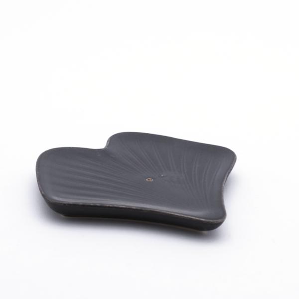 Drake Füstölőpálca-tartó kerámia Ginkgo - fekete