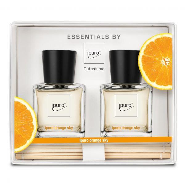 iPuro Pálcás illatosító Essentials 2x50ml -  Narancs illat
