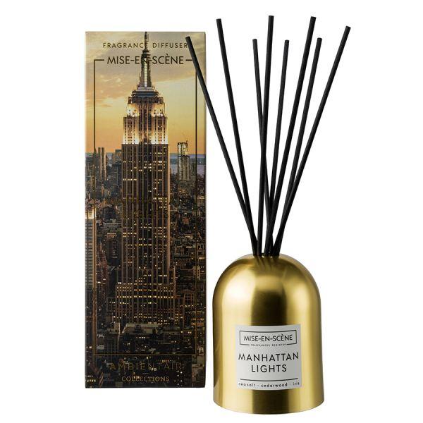 Ambientair illatosító diffúzor 200ml Arany - Manhattan Lights