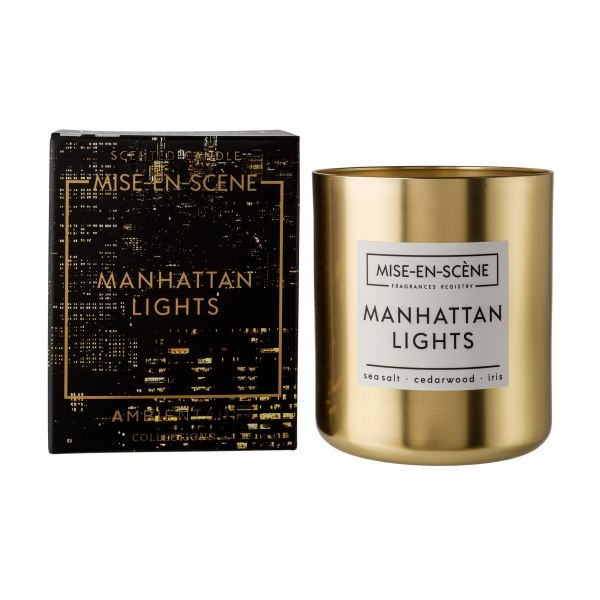 Ambientair Illatgyertya 50h Arany - Manhattan Light