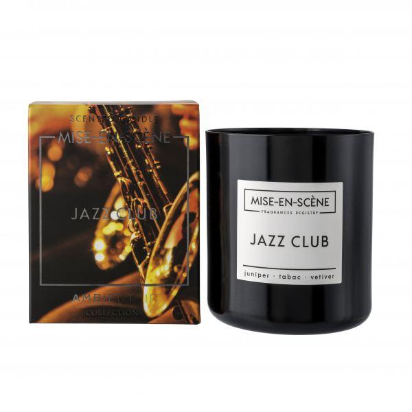 Ambientair Illatgyertya 50h Fekete - Jazz Club