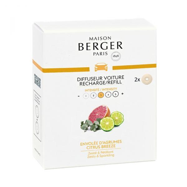Maison Berger Paris Autóillatosító Utántöltő - Citrusos Szellő